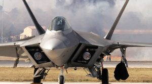 Drones Swarmed And Grounded An F-22 – So Many Of Them
