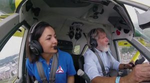 Harrison Ford Takes Teenage Pilot On Thrilling Flight – She Asks Him A Priceless Question