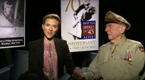 Scarlett Johansson Answers WWII Pilot's Last Wish