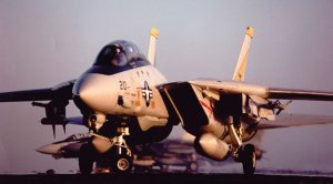 Tomcat Gets Blown Off Carrier-Pilots Make The Tough Call To Eject