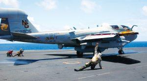 Jet Blast Hurls Guy Across Carrier-Recovers Like A Champ