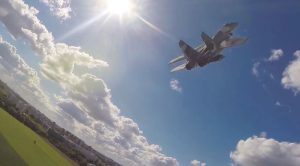 Massive RC Jet Hovers With Its Thrust Vectoring Nozzles–Crazy Design