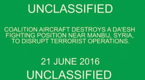 UNCLASSIFIED | This Is A Terrorist Stronghold Before We Hit It
