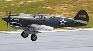 96-Year-Old Flying Tiger Pilot Soars In P-40 Warhawk