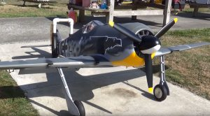 Colossal RC Focke-Wulf 190 Roars Past The Competition
