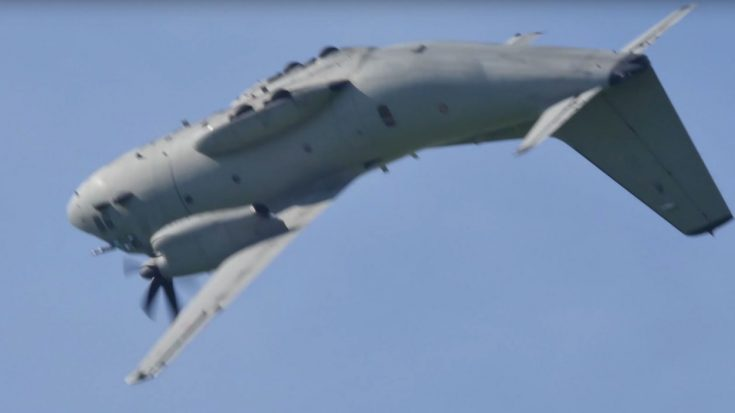 Massive C27J Spartan Starts Doing Backflips Because It Can | World War Wings Videos