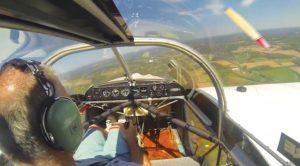 Pilot Shrugs Off His Prop Breaking Off Mid-Flight