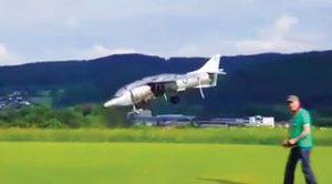 Guy Scratch Builds An RC Harrier Jump Jet-There's No Other Like It