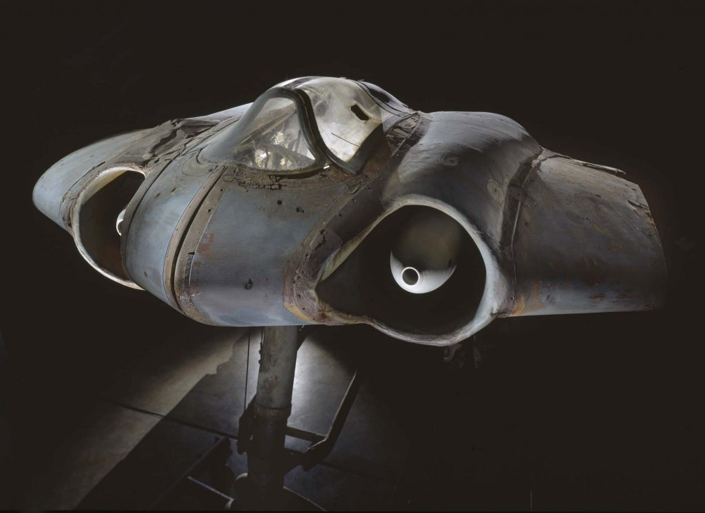 n 1943 the all-wing and jet-propelled Horten IX promised spectacular performance and the Horton H IX V3 (Horton 229 German air force (Luftwaffe) chief, Hermann Göring, allocated half-a-million Reich Marks to the brothers Reimar and Walter Horten to build and fly several prototypes. Numerous technical problems beset this unique design and the only powered example crashed after several test flights but the airplane remains one of the most unusual combat aircraft tested during World War II.