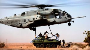 CH-53E Super Stallion – The Military's Biggest Helicopter Hauls A Tank
