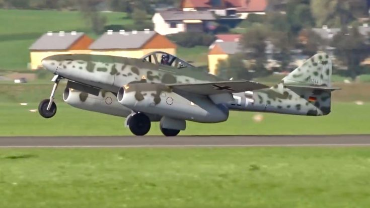 The Very First Fighter Jets Howls Through The Sky After 70 Years | World War Wings Videos