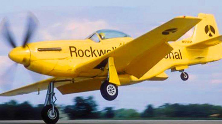 """Legendary Bob Hoover P-51D Mustang /""""Ole Yeller/"""""""