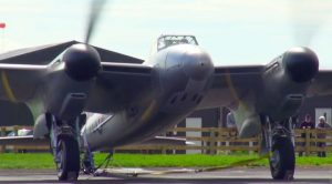 Mosquito Bomber Buzzing With Those Massive Twin Rolls-Royce Engines