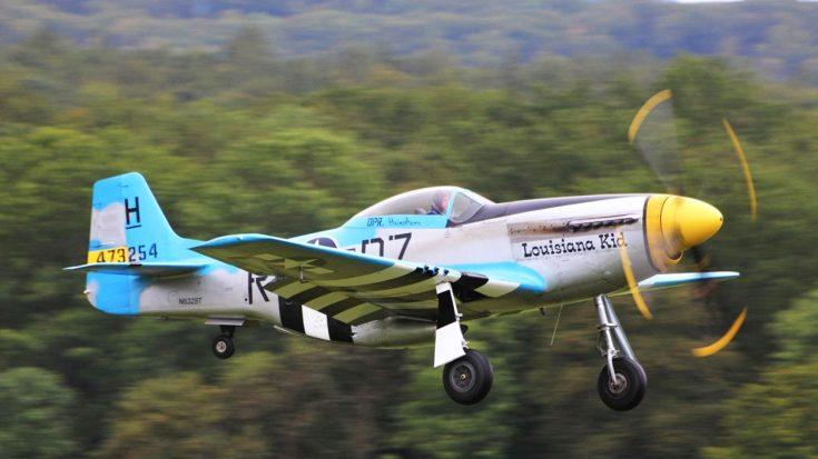 Louisiana Kid – High Speed, Loud Sound, Pure Mustang | World War Wings Videos