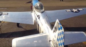Shiny, Fast And Flawless – RC P-51 Mustang Soaring In The Sun