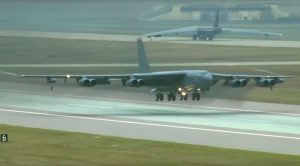 Massive Squadron Of B-52s Scramble Into Action As Nuclear Threats Escalate