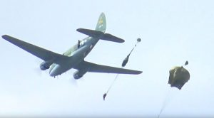 Paratroopers Jump From 72-Year-Old C-46 Commando