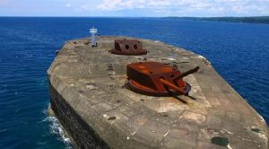 Blasted And Set On Fire But America's Concrete Battleship Is Unsinkable