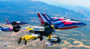 Jetpack Daredevils Race With The French Air Force