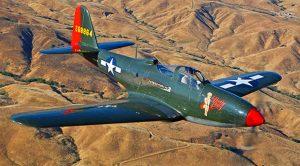Last Flying P-63 Kingcobra Thundering Into The Sky