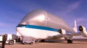 NASA's One-Of-A-Kind Freakishly Large Cargo Plane