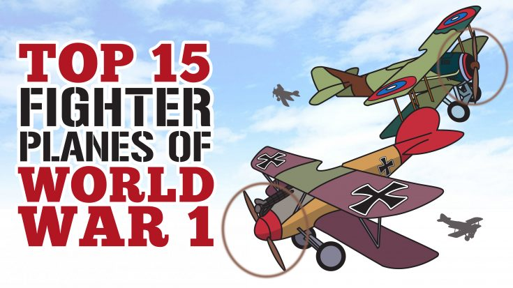 Top 15 Fighter Planes Of WWI- These Are Absolutely Beautiful | World War Wings Videos
