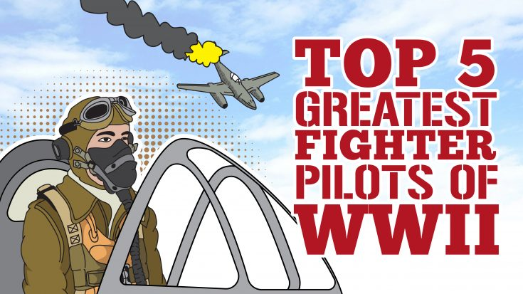The Top 5 Greatest Fighter Pilots Of World War II | World War Wings Videos