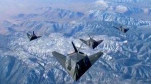 4 Retired F-117 Nighthawks Unite In Epic Formation