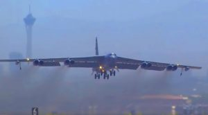Colossal B-52 Bomber Takeoff And Combat Exercises