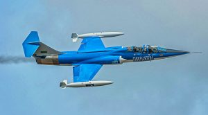 Loud Supersonic Sounds Of The F-104 Starfighter