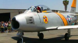 Original F-86 Sabre Roars Loud At Planes Of Fame