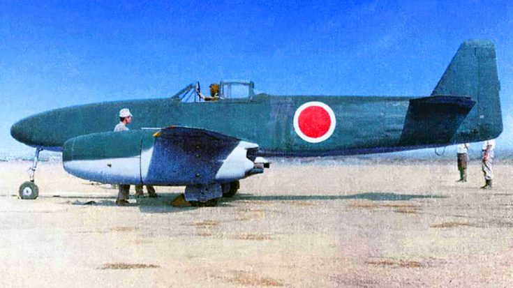 The Only Nakajima Kikka – Japan's First Fighter Jet | World War Wings Videos
