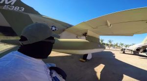 After Breaking In To An Air Force Base He Gets A Taste Of Military Power – Literally