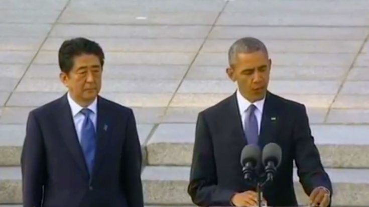 Japanese Prime Minister Shinzo Abe Speaks At USS Arizona Memorial [Live] | World War Wings Videos
