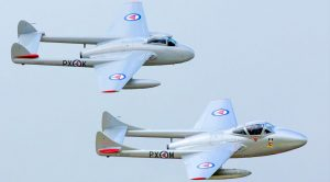 High-Speed Vampires Pull Off Loud Howling Flyby