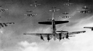 The Reason We Fly In Formation Is Because Of WWII Threats