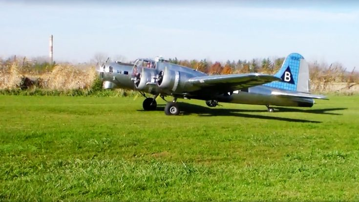 After 17 Years, This Manned 1/3 Scale B-17 Took Off-But Wasn't Supposed To | World War Wings Videos