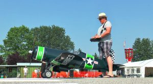 This Rc Corsair Sounds Out Of This World-Plus, The Wings Fold