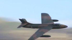 This Hawker Hunter Pilot Gunning Through The Sky Gave Us Chills