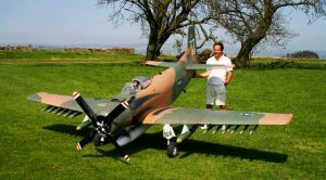 This 30% Scale A-1 Skyraider Sounds And Flies Like A Beast