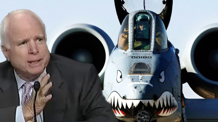 What Sen. McCain Said About The A-10 Is Priceless | World War Wings Videos