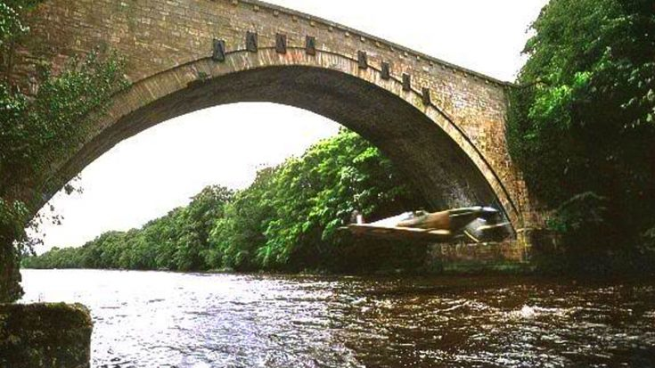 Footage Of Ray Hanna Flying Under A Bridge-That Spit Is Roaring   World War Wings Videos