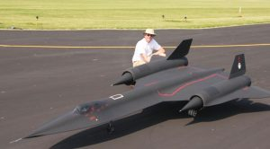 The Turbine Engines On This Massive Rc Blackbird Sound Out Of This World