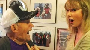 This WWII Veteran Got The Ultimate Gift From Taylor Swift This Christmas