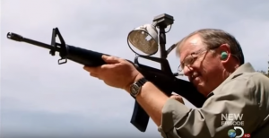 WWII Tommy Gun 50 Round Burst Vs Targets – What'd You Think Was Gonna Happen?