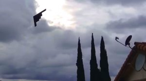 Legendary B-2 Bomber Pulls Extremely Low Neighborhood Flyover