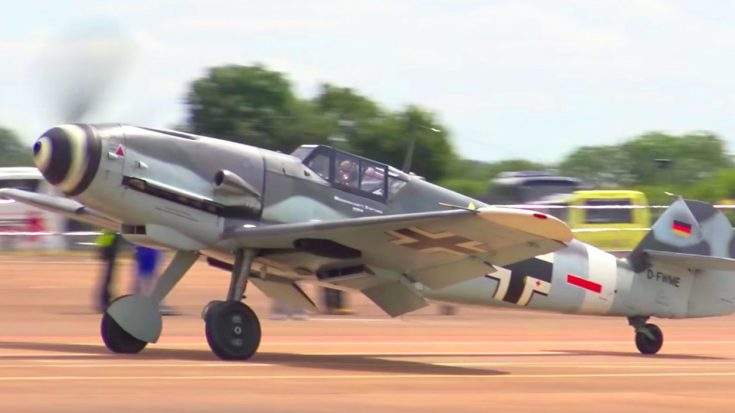 Only Airworthy Bf-109G-4 Slicing Through The Skies | World War Wings Videos