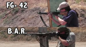 WWII B.A.R. vs FG-42 – Even The Lesser Marksman Wins Because Of This Gun