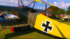 Perfect Condition WWI Fighters 100 Years Old And Still Soaring