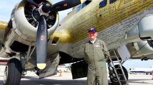 93-Year-Old Veteran Can't Stop Flying In This B-17